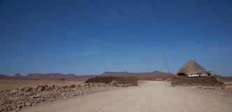 避难所在沙漠 免版税库存图片