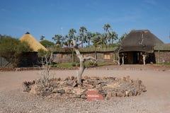 避难所在沙漠 免版税图库摄影