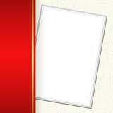 邀请卡片 免版税库存照片