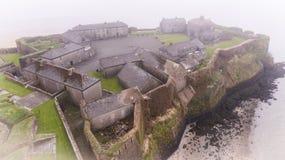 邓坎嫩堡垒,县韦克斯福德 爱尔兰 库存照片