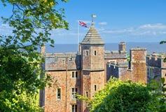 邓斯特城堡,萨默塞特,英国 免版税图库摄影