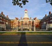 邓斯特议院,哈佛大学 库存图片