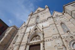 那不勒斯大教堂中央寺院二圣热纳罗 库存照片