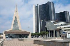 那不勒斯的商业中心 免版税库存图片