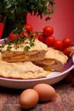 那不勒斯的薄饼rustica 免版税库存图片