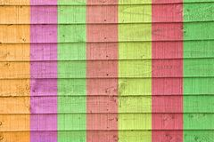 那不勒斯背景条纹垂直的颜色的丑角 图库摄影
