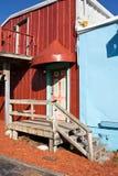 那不勒斯,历史的港口,罐子城市 库存照片