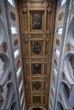 那不勒斯,意大利, 6月01日:那不勒斯大教堂中央寺院二圣热纳罗在2016年6月01日的意大利 免版税库存照片