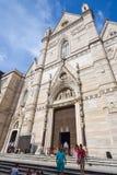 那不勒斯,意大利, 6月01日:那不勒斯大教堂中央寺院二圣热纳罗在2016年6月01日的意大利 免版税图库摄影