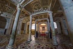 那不勒斯,意大利, 6月01日:那不勒斯大教堂中央寺院二圣热纳罗在2016年6月01日的意大利 图库摄影