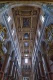 那不勒斯,意大利, 6月01日:那不勒斯大教堂中央寺院二圣热纳罗在2016年6月01日的意大利 库存照片