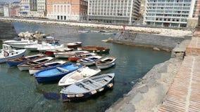 那不勒斯-意大利的博尔戈Marinari 影视素材