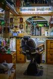 那不勒斯(拿坡里),意大利- 6月10 :理发沙龙, 2 6月10日, 免版税库存照片