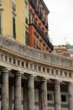 那不勒斯- Plebiscito广场 免版税库存图片