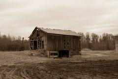 那个老谷仓 库存照片