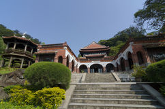 那个nanyuan :撤退和健康土地  免版税库存照片