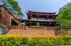 那个nanyuan :撤退和健康土地  免版税库存图片