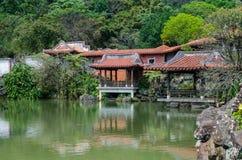 那个nanyuan :撤退和健康土地  库存图片