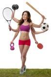 那么许多选择的体育从 免版税图库摄影
