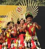 那加兰邦,印度纳卡人部落  免版税库存照片