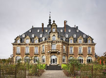 那慕尔城堡和公园 瓦隆 比利时 免版税库存照片