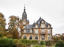 那慕尔城堡和公园 瓦隆 比利时 免版税库存图片