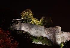 那慕尔城堡  瓦隆 比利时 免版税图库摄影