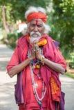 那烂陀寺,印度- 2012年11月27日: 库存照片