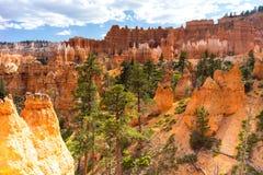那瓦伙族人圈布莱斯峡谷国家公园犹他美国 免版税库存图片