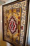 那瓦伙族人地毯 免版税图库摄影