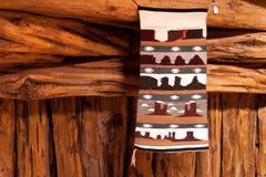 那瓦伙族人地毯 库存图片