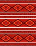 那瓦伙族人纺织品模式 库存照片