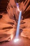 那瓦霍尔人保留地的羚羊峡谷在页,亚利桑那,美国附近 库存照片