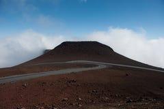 那里云彩被形成!夏威夷 免版税库存照片