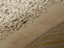 那里海连接用海滩 免版税库存照片