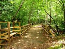 邦克山供徒步旅行的小道 免版税库存图片