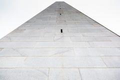 邦克山纪念碑在波士顿 免版税库存照片