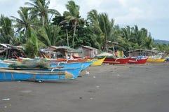 邦加海峡或小船船 免版税库存图片