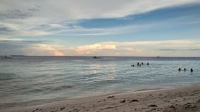 邦劳岛 库存照片