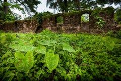 邦斯海岛,塞拉利昂,西非-英国奴隶贸易 库存图片