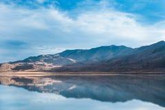 邦纳维尔盐沼,图埃勒县,犹他,美国 免版税库存照片