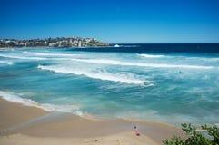 邦迪滩,悉尼,澳大利亚 库存图片