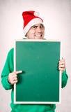 邪恶的圣诞老人 库存图片