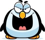邪恶的小的企鹅 向量例证