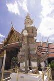 邪魔监护人Sa有sa de查家在曼谷玉佛寺盛大宫殿曼谷 免版税库存图片