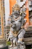 邪魔雕象在巴厘岛,印度尼西亚 库存照片
