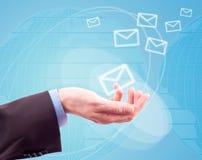 邮件世界 免版税库存图片