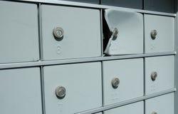 邮件偷窃 库存图片