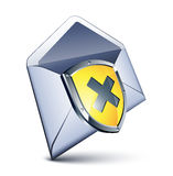 邮件盾 库存照片
