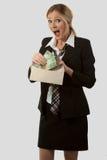 邮件货币 免版税库存照片